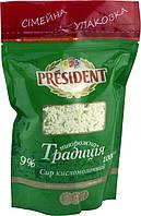 """Сыр кисломолочный """" Творожная традиция """" ТМ """"Президент """""""