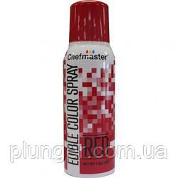 Пищевая краска-спрей Красная, 42г, Chefmaster
