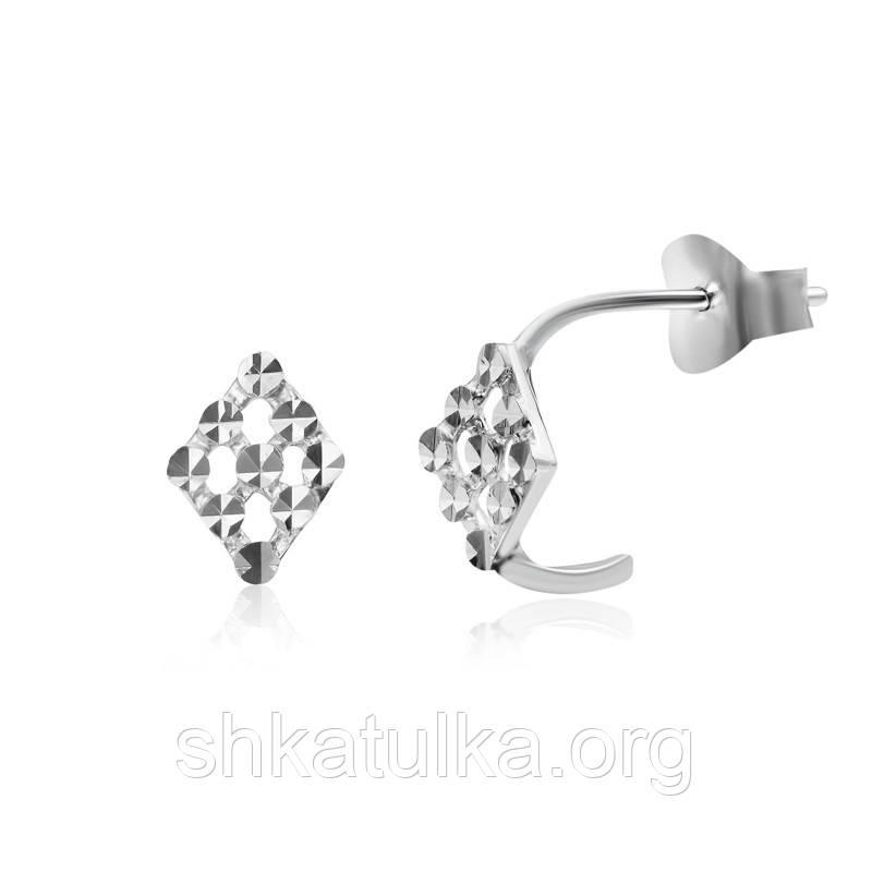 Серебряные серьги С2/388