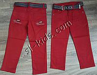 Яскраві штани,джинси для хлопчика 8-12 років(темно-червоний) розд пр. Туреччина