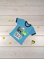 Детская футболка Пальма Размер 104 см, 110 см