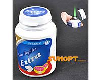 Зажигалка карманная баночка витаминов (турбо пламя) №2273-5