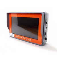 Тестовый монитор для настройки камер до 5 Мп 4в1: AHD+TVI+CVI+CVBS (модель IV7W)