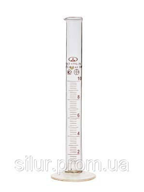 Цилиндр 25 мл (1-25) стеклянное основание
