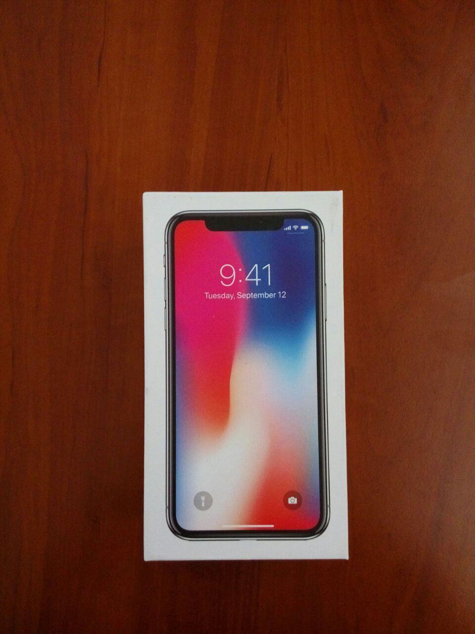 Корейская фабричная копия IPhone X Айфон 10  черный