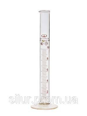 Цилиндр 50 мл (1-50) стеклянное основание