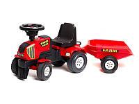 Трактор-каталка POWER MASTER с прицепом Falk 1013B