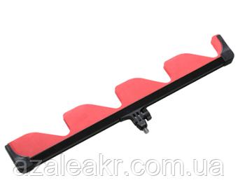 Гребінка підставка-для вудлища з системою регулюв. кута нахилу