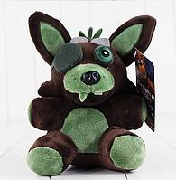 Мягкая плюшевая игрушка 5 ночей с Фредди Фантом Фокси Аниматроники. Фнаф 14см, фото 1