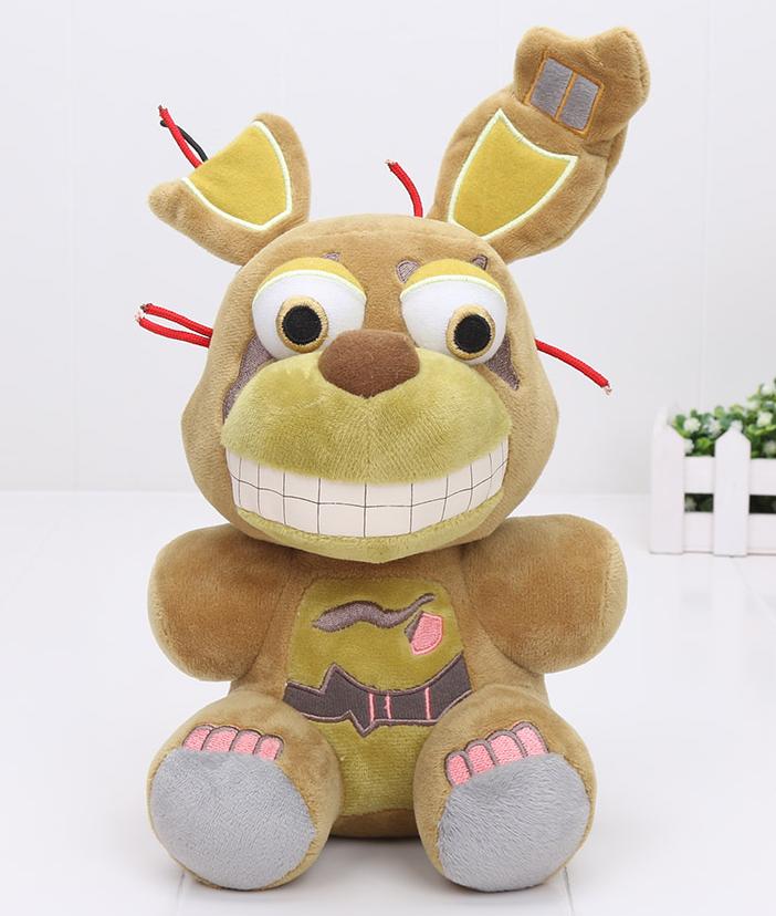 Мягкая плюшевая игрушка 5 ночей с Фредди Спрингтрап Аниматроники. Фнаф