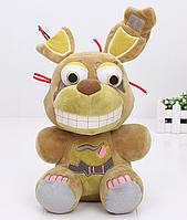 Мягкая плюшевая игрушка 5 ночей с Фредди Спрингтрап Аниматроники. Фнаф, фото 1