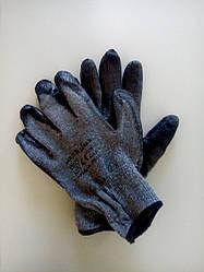 Перчатка пена ПВХ черная