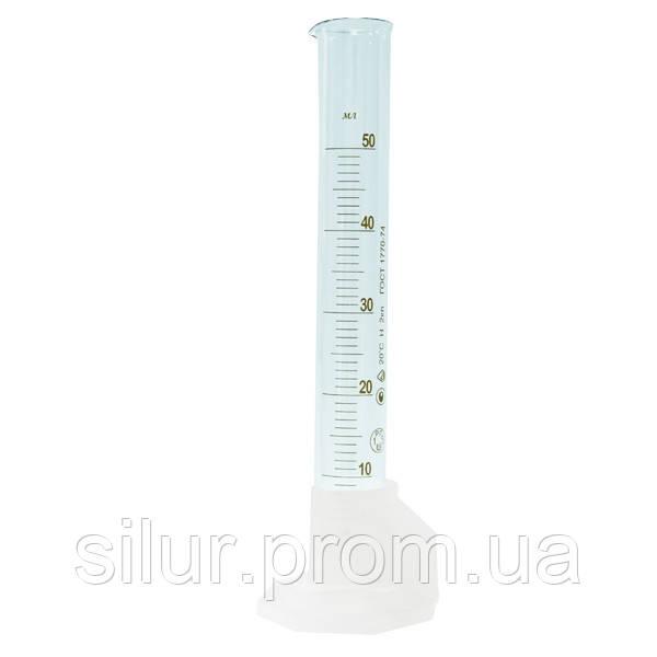 Цилиндр 25 мл (3-25) пластиковое основание