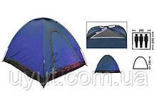 Палатка Автомат трехместная SY-A-35-BL