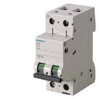 Автоматический выключатель Siemens Sentron  (400В, 6кA, 2-пол, C, 4A), 5SL6204-7