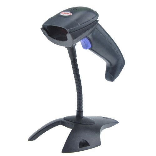 Лазерный сканер штрих-кода AW-2055 с подставкой