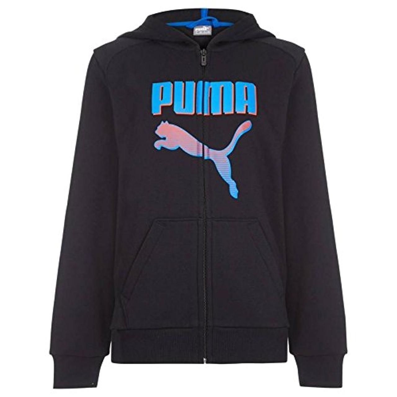 Худи флисовое на молнии Puma (США) (Размер  9-10 лет)