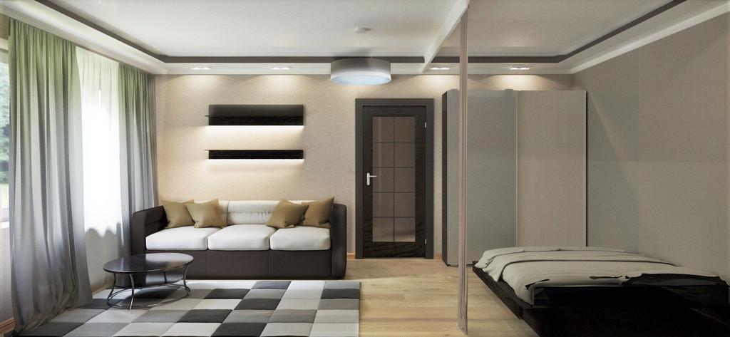 Однокомнатная квартира 1