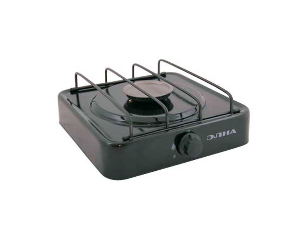 Газова плита одноконфорочная без кришки (ЕЛНА)