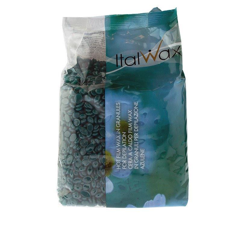 ItalWax Azulene гранулированный горячий воск 1 кг