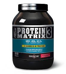 FL Protein Matrix 3 1000g - клубника