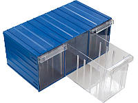 Выдвижной модульный ящик 120-3 (В×Ш×Г)160×370×204