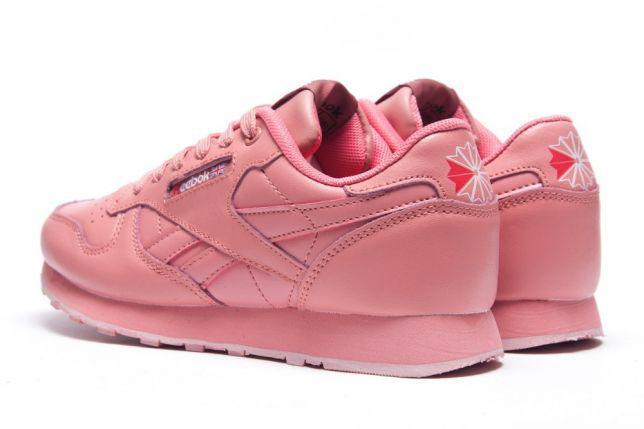 Кроссовки женские Reebok Classic.Розовые