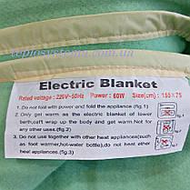 Электропростынь KET ELECTRIC 120 х 155 байка Турция, фото 3