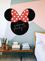 Детская наклейка для рисования мелом Микки Маус (самоклеющаяся пленка)