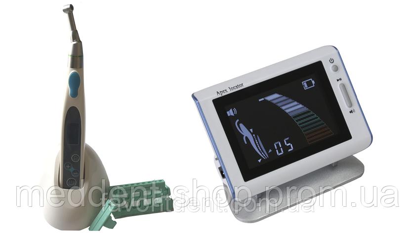 Набор: Портативный беспроводной эндомотор + апекслокатор на аккумуляторе , фото 2