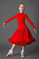 Рейтинговое платье для бальных танцев (бейсик) 832 р. 28 - р. 36, фото 1