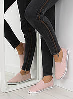 Розовые спортивные женские слипоны xl08p 41,40,39,38,37