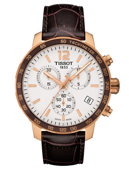 Годинники чоловічі Tissot Quickster Chronograph T095.417.36.037.00