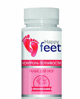 Тальк Happy Feet Контроль Потливости 50 г