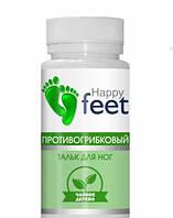 Тальк Happy Feet Противогрибковый 50 г