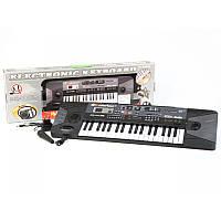 Пианино синтезатор с радио и  микрофоном MQ 007 FM