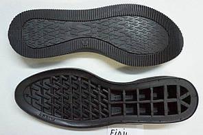 Подошва для обуви Фиджи черная р,36-41, фото 2