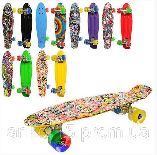Пенни борд, Penny board,скейт, скейтборд 0748-6