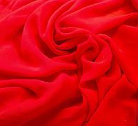 Тюль шифон однотонный красный - 3,15 метра