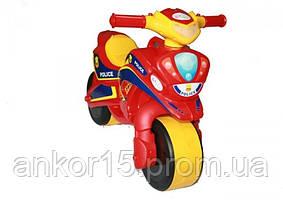 Мотоцикл толокар Полиция 0139-560