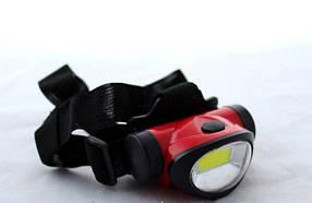 Налобный фонарь BL 603-9 COB ( фонарик на лоб )