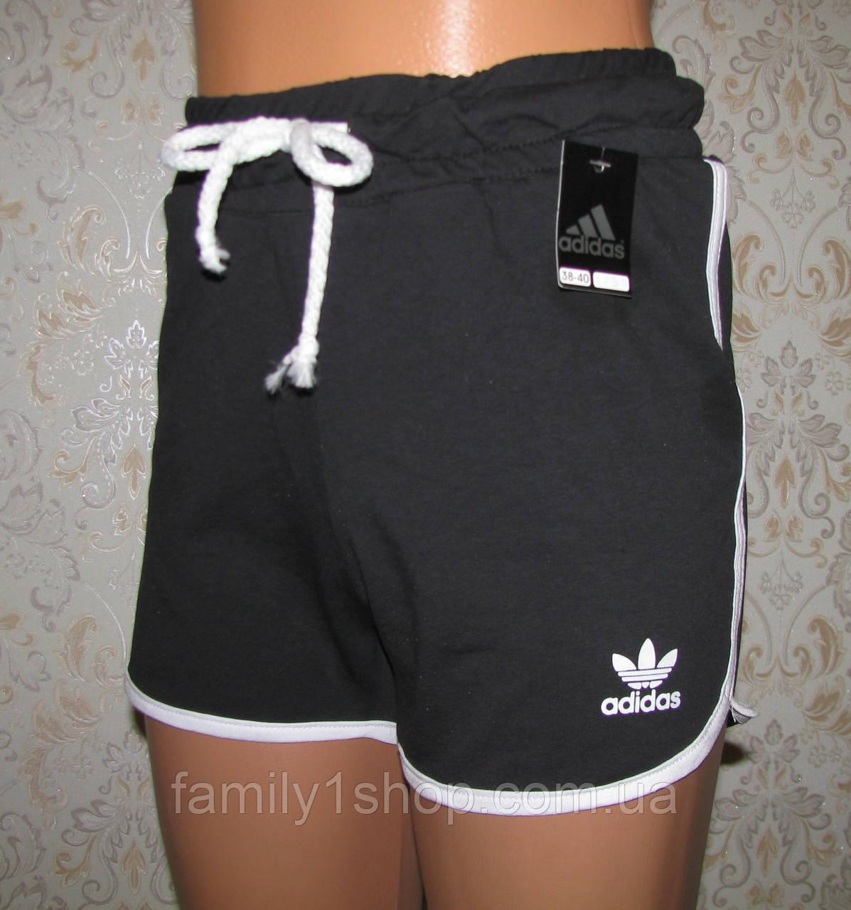 Спортивные шорты женские Адидас, трикотаж.  продажа, цена в ... e165b41e5c1