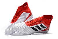 Футзалки (бампы) adidas Predator Tango 18.3 IC White/Core Black/Real Coral, фото 1
