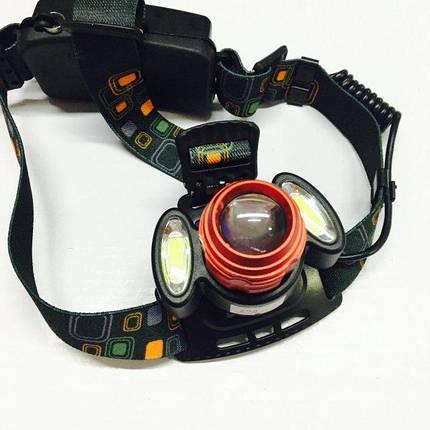 Налобный фонарь 298 ( фонарик на лоб ), фото 2