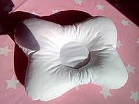 """Ортопедична подушка """"Метелик"""" (колір білий). Ортопедическая подушка """"Бабочка"""""""