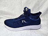 Мужские кроссовки Reebok Pump Plus Ultraknit синие с белым, фото 2