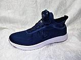 Мужские кроссовки Reebok Pump Plus Ultraknit синие с белым, фото 3