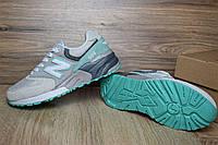 Кроссовки женские в стиле New Balance 999 код товара OD-2455. Серые с бирюзой