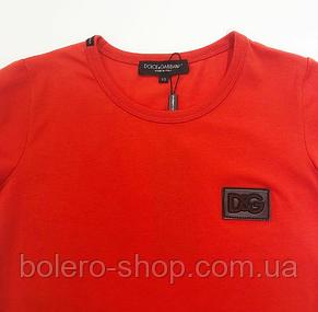 Брендовая женская футболка  Dolce&Gabbana Италия, фото 2