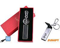 Зажигалка-брелок (USB, Спираль накаливания) №4802-1